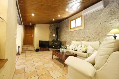 A seating area at Villa Magdalena Calvia