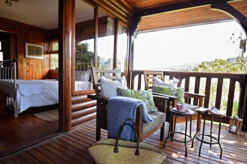 A balcony or terrace at Bramon Wine Estate