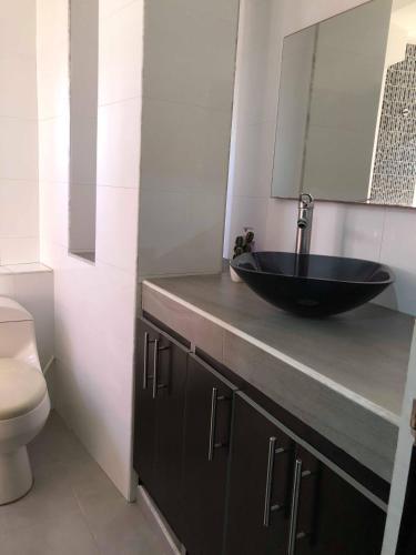 Um banheiro em Apartmentos Tropical Dreams 2