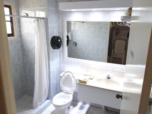 Um banheiro em Sasaki Apartments