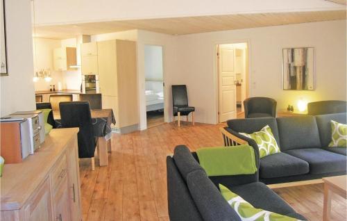 Area soggiorno di Holiday home Hægvej Grenaa
