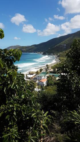 Purple Pineapple Guest Houses - Overlooking Apple Bay, Tortola BVI