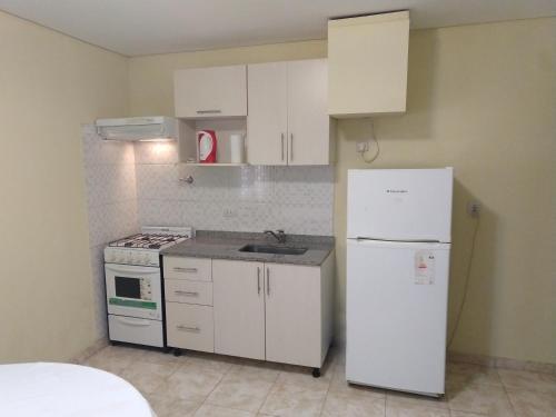 Una cocina o kitchenette en Departamento 10