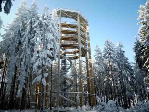 Apartmány U Šafářů v zimě