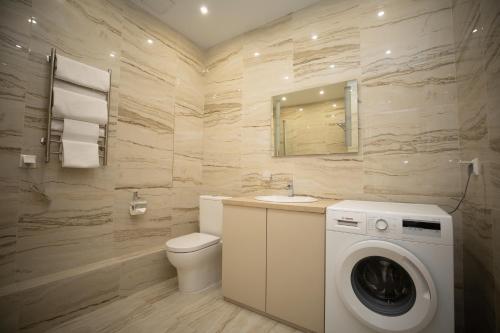 Ванная комната в Апарт-отель АНИС МонАрх Хорошевский