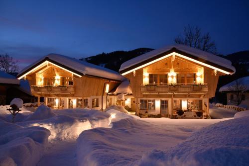 Landhaus & Haus Rustika during the winter