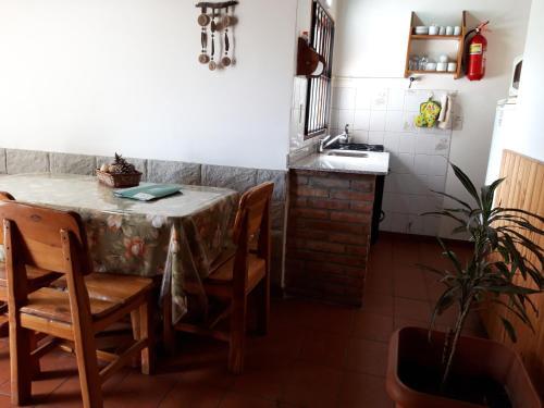 Una cocina o kitchenette en Villa San Ignacio
