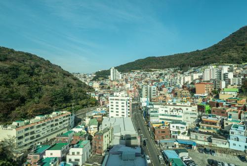 A bird's-eye view of 아파트