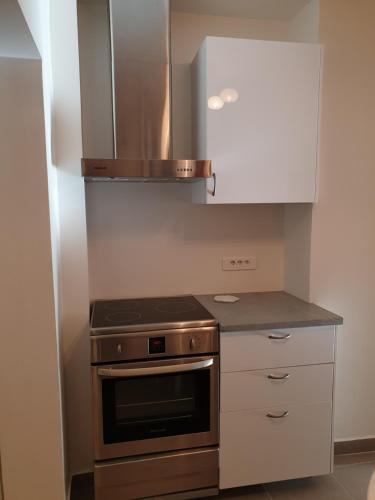 A kitchen or kitchenette at 9 Rue François Miron