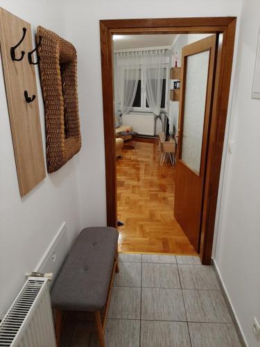 Posezení v ubytování Apartman Jelačić Vinkovci