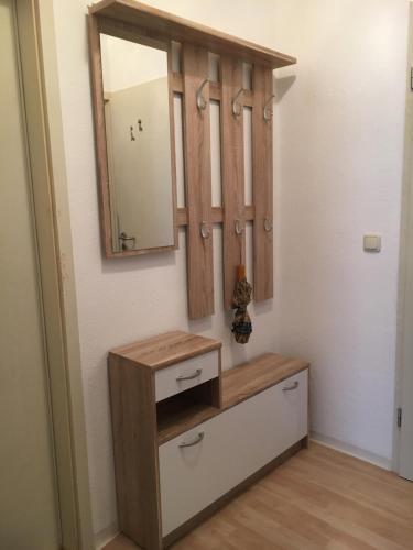 A bathroom at Gemütliches Appartement nähe Zentrum mit Küche