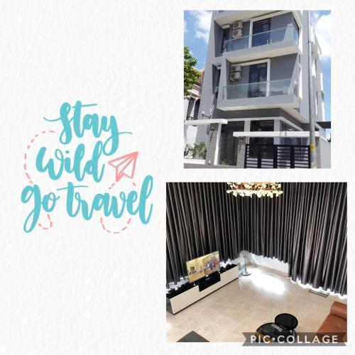 Grey House Apartment