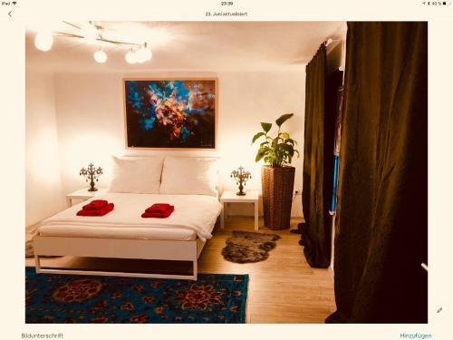 Ein Bett oder Betten in einem Zimmer der Unterkunft Max-Apartment