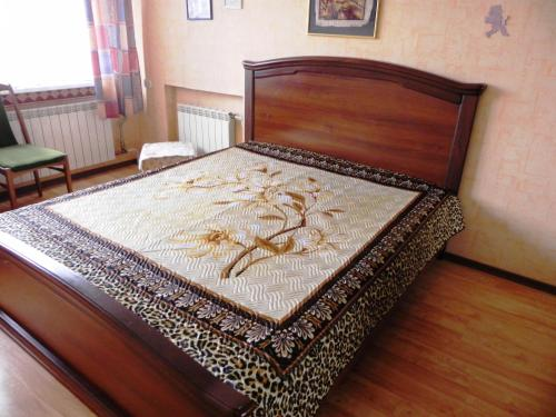 A bed or beds in a room at Apartments na Ostrove Knaiphof