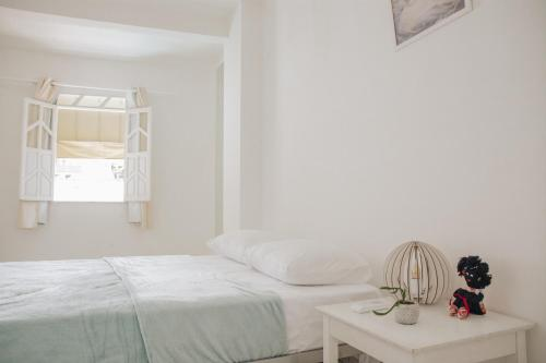 A bed or beds in a room at Ao lado do Pelô