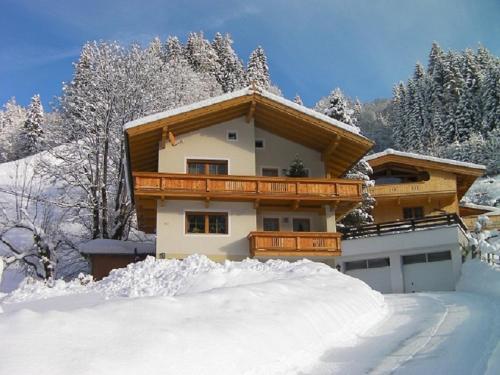 Haus Waldblick during the winter