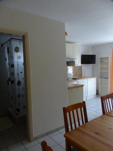Küche/Küchenzeile in der Unterkunft Apartments Different Colours