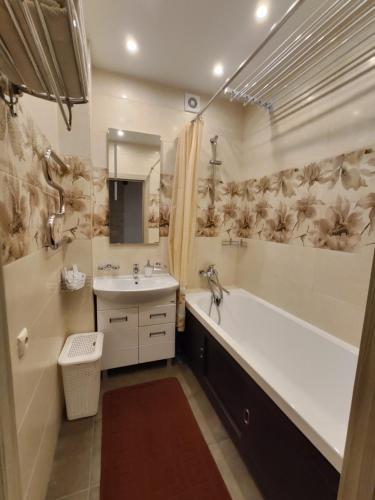 A bathroom at Пионерская 54