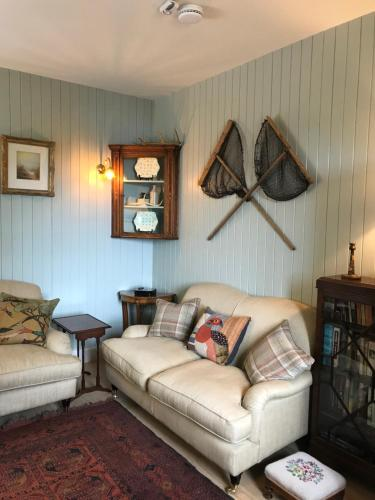 A seating area at Ardtornish Estate