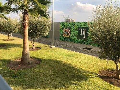 A garden outside BEST unit NEAR Casablanca AIRPORT