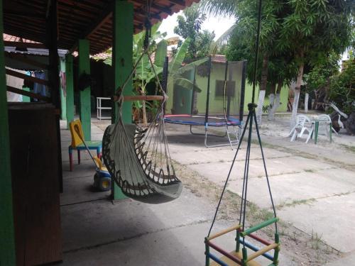 Children's play area at Espaço Verde Francês