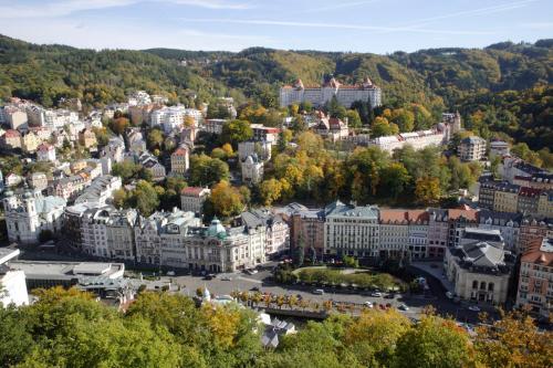 Letecký snímek ubytování City centre apartment Demio