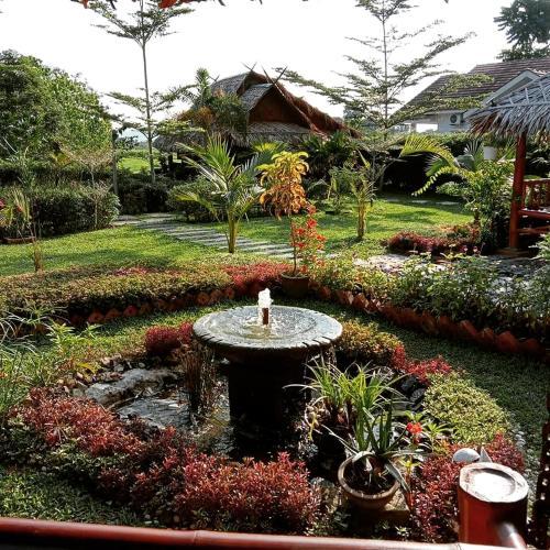 Een tuin van Bambu Getaway