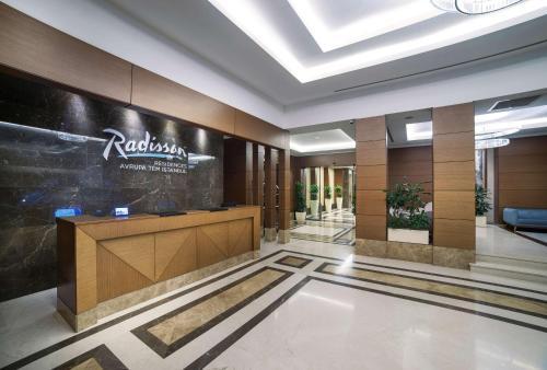 منطقة الاستقبال أو اللوبي في Radisson Residences Avrupa TEM Istanbul