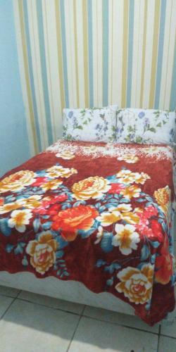 Cama ou camas em um quarto em Mundial Hostel