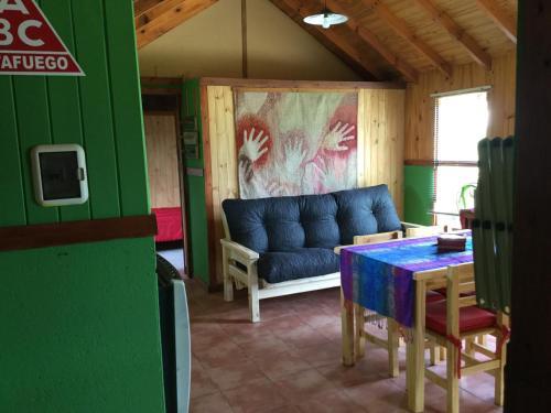 Un lugar para sentarse en Casa al Río