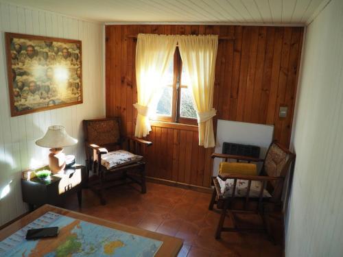 Un lugar para sentarse en La Casa del Viejo Manzano