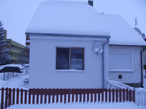 Apartman Nóra during the winter