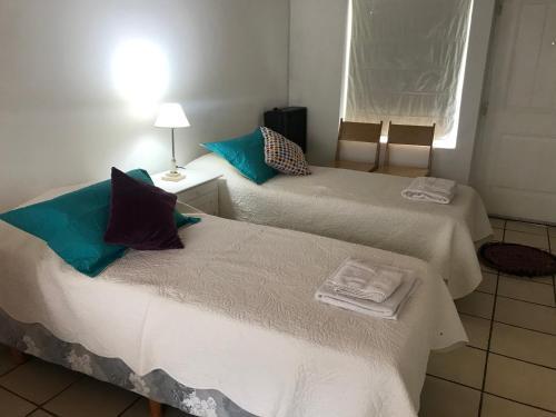 Una cama o camas en una habitación de Monoambiente Centro San Martin de los Andes
