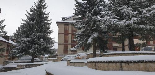 Appartamento Revisondoli during the winter