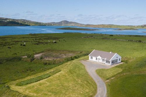 A bird's-eye view of Doherty Farm Holiday Homes