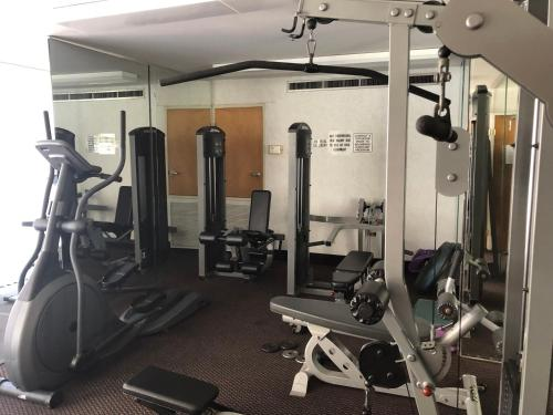 The fitness center and/or fitness facilities at WALK TO GASLAMP & CONVENTION SUITE