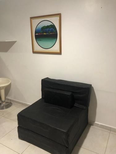 Et sittehjørne på Apartamento Tambaú