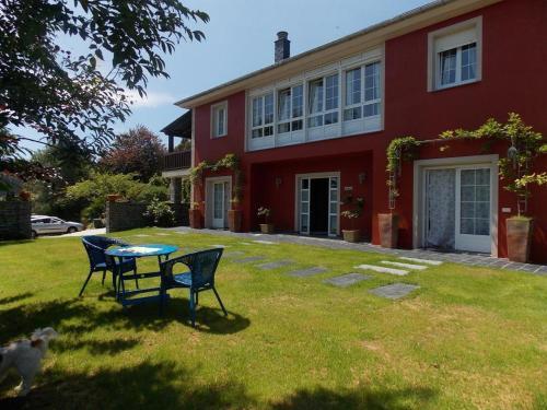 Jardín al aire libre en Apartamento Guidan