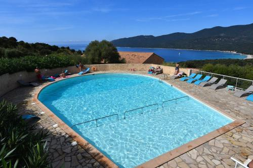 A view of the pool at Residence Alba Rossa or nearby