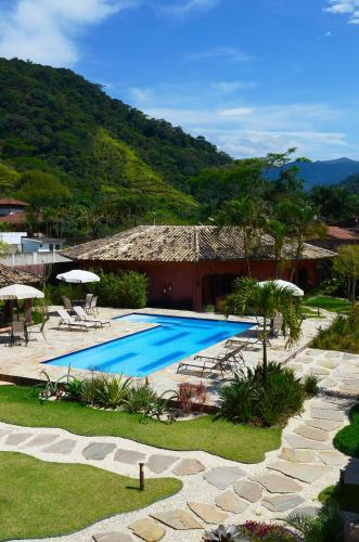 A piscina localizada em Pousada Tupinamba ou nos arredores