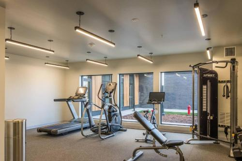 The fitness center and/or fitness facilities at Simple and Walkable Studio Apt in Capitol View South
