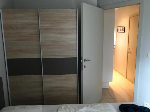 Ein Badezimmer in der Unterkunft Appartement Koksijde
