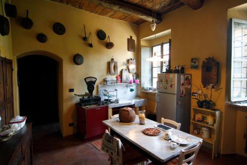 Cucina o angolo cottura di Casa Visconti