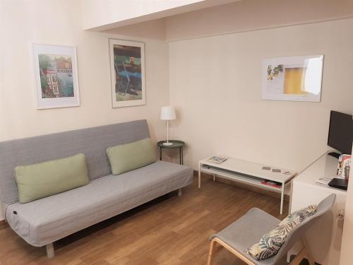 A seating area at Cozy studio downtown Athens/Kolonaki