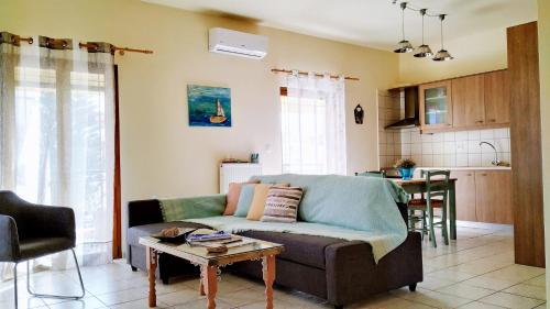 Area soggiorno di Apartment Near Airport