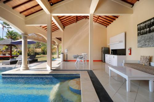 The swimming pool at or near The Beverly Hills Bali by Transera