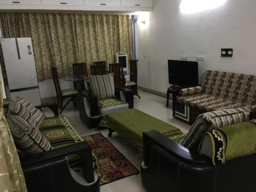 A seating area at Kuber House