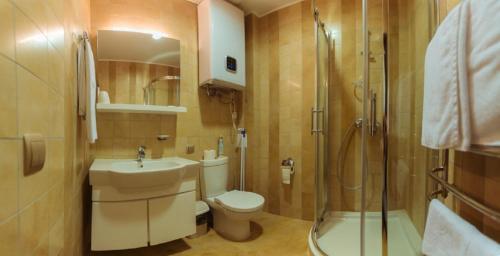 Ванная комната в Art Hotel KOKTEBEL APARTMENTS
