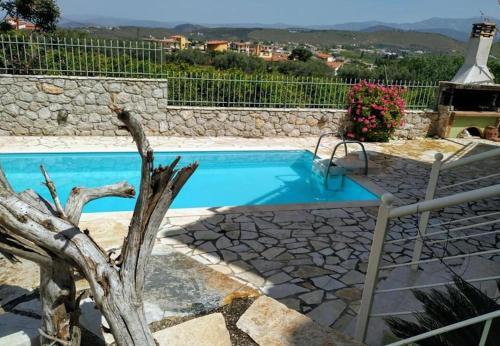 Πισίνα στο ή κοντά στο Kassandra Villa