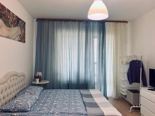 Letto o letti in una camera di Aparthotel Pulkovskoye Shosse